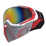 HK Army KLR Goggles - Slate - White/Red