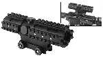 NcSTAR SC3RSP432B 4x32 Compact Scope 3 Rail System - Weaver