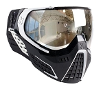 HK Army KLR Goggles - Black/White Chrome Lens