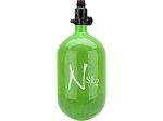 Ninja 68ci SL2 HPA Tank - Lime ProV2 Regulator