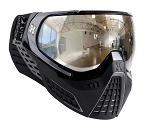 HK Army KLR Goggles - Black/Grey Chrome Lens
