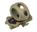 Valken ATH Tactical Helmet Flashlight Swivel Clamp - FDE
