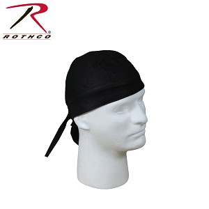Rothco Solid Color Headwrap - Black