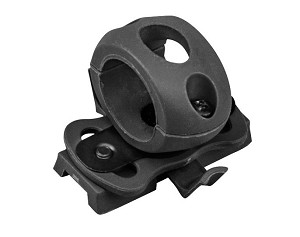 Valken ATH Tactical Helmet Flashlight Swivel Clamp -BLACK